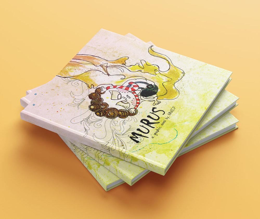 MURUS graphic novel, illustration, writing