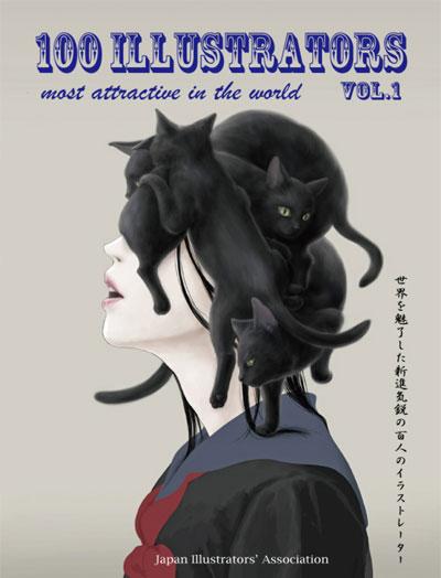 Book -    100 ILLUSTRATORS most attractive in the world Vol.1