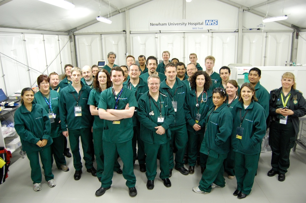 The G20 Medical Team - ready for action