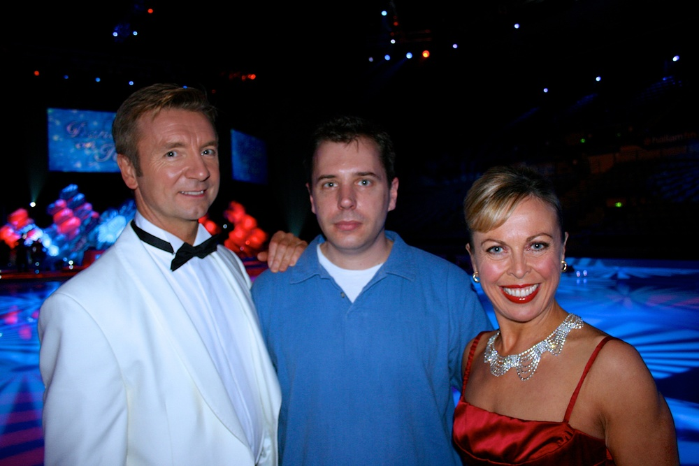 Chris & Jayne with me after the first tour of 2007