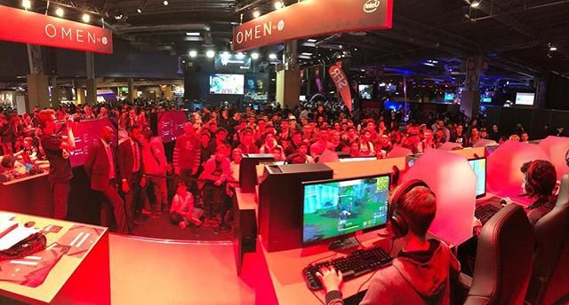 Our world this week . . . . #parisgamesweek #fortnite #gamingworld #esports #liveshow #liveevent #showproducer #showcaller #makethemhappy