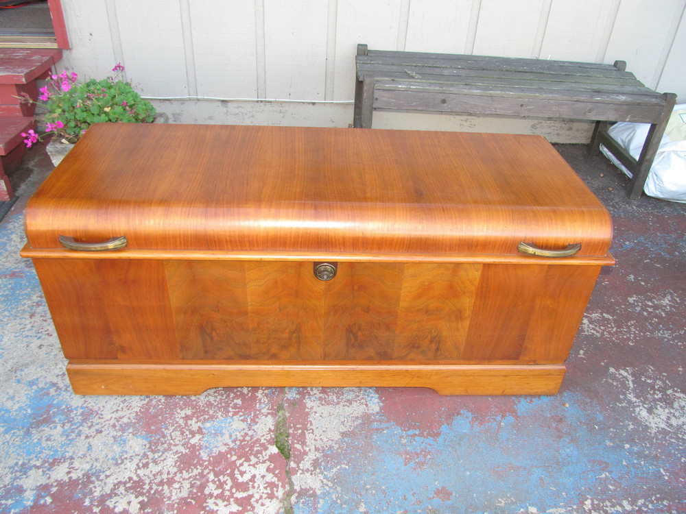 1924 Art Deco Cedar Chest SOLD