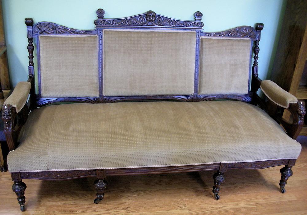 Renaissance Revival Sofa ca.1870