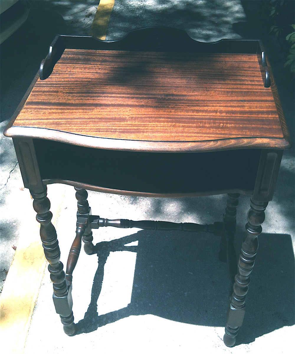Mahogany Phone Table ca.1910