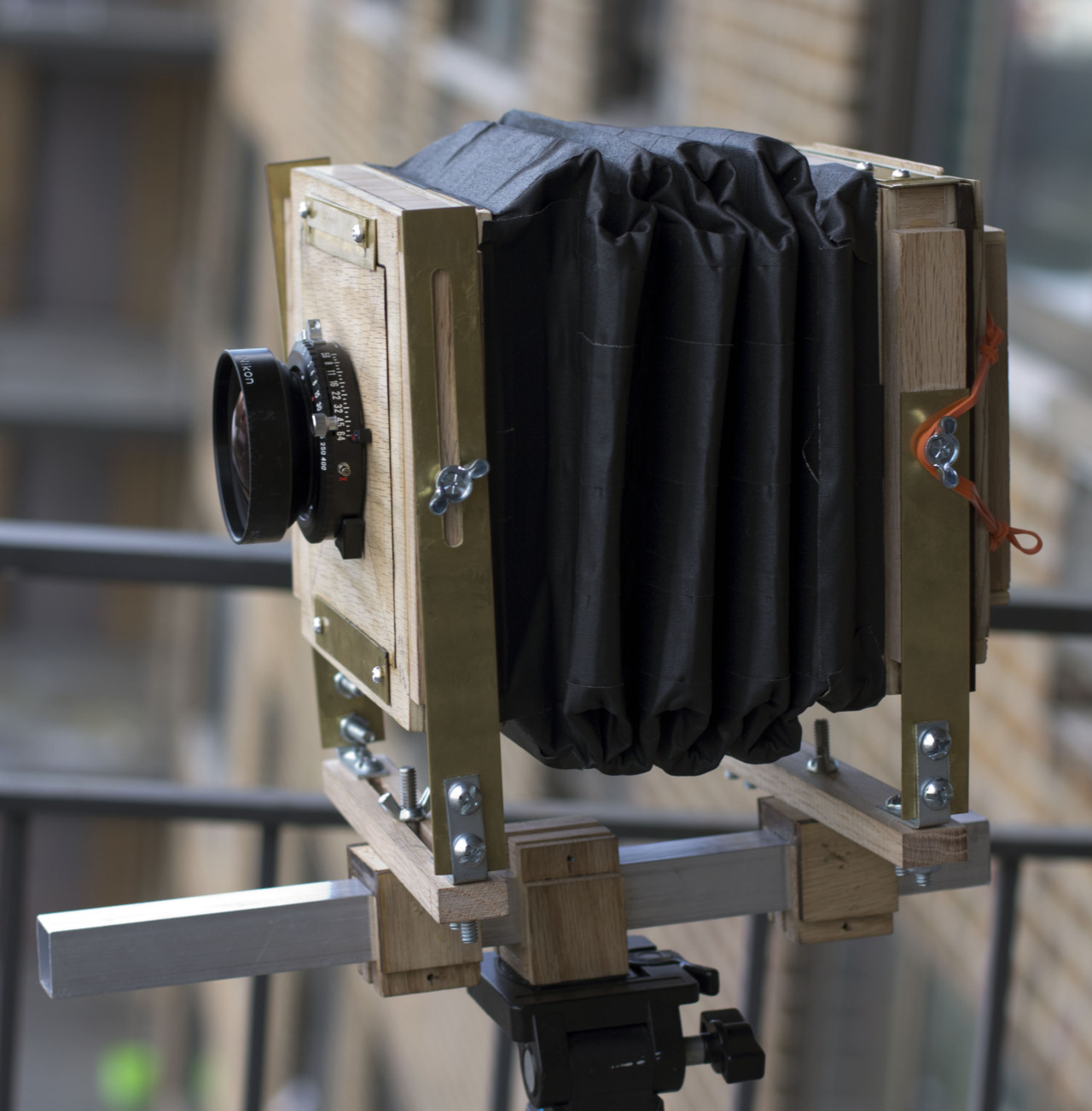 My home made 4X5 view camera.