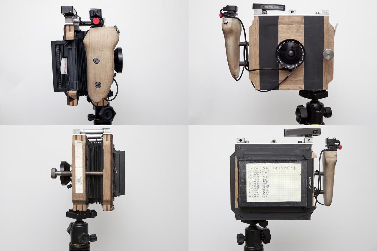 Finally, images of my handmade Polaroid camera!