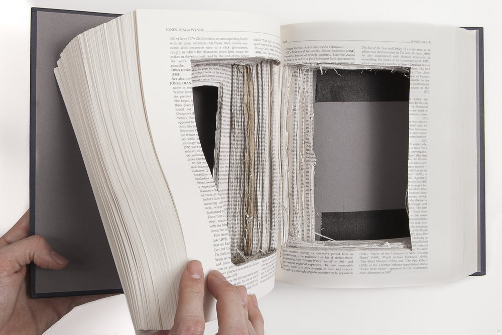 Book camera  | book made into large format camera