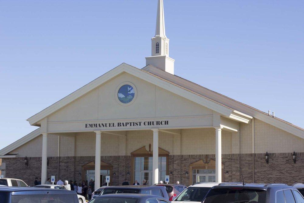 Emmanuel Baptist Church </br>120 Veterans Blvd
