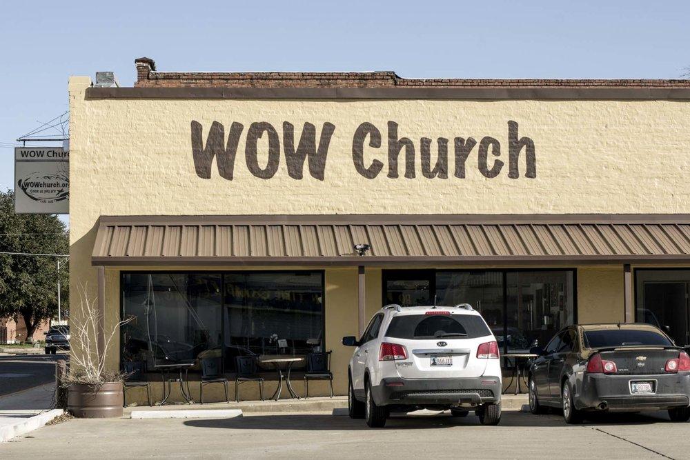 WOW Church </br> 100 N Washington St