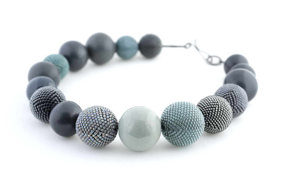 Charcoal Blues Necklace II