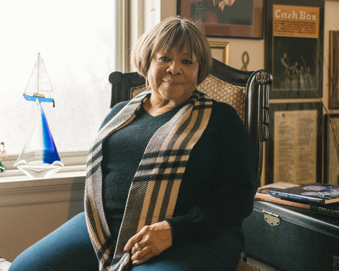 Mavis Staples at her home in Chicago. Credit Ryan Lowry for The New York Times