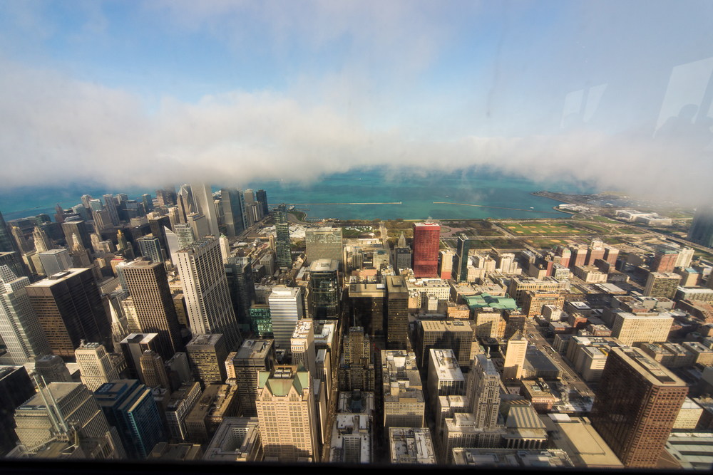 The view from the Skydeck