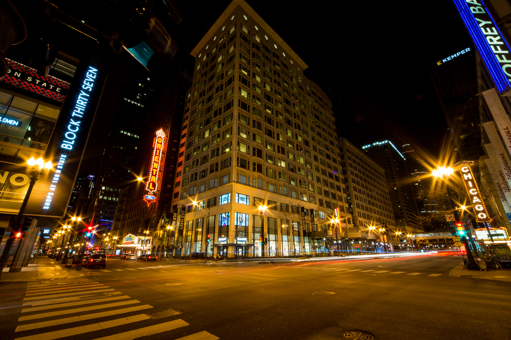 The Oriental and Chicago Theaters
