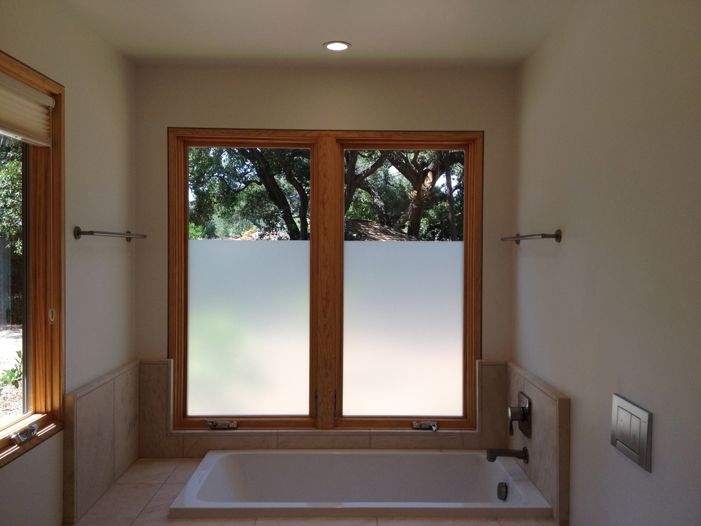 Decorative privacy glass plus for Residential window design