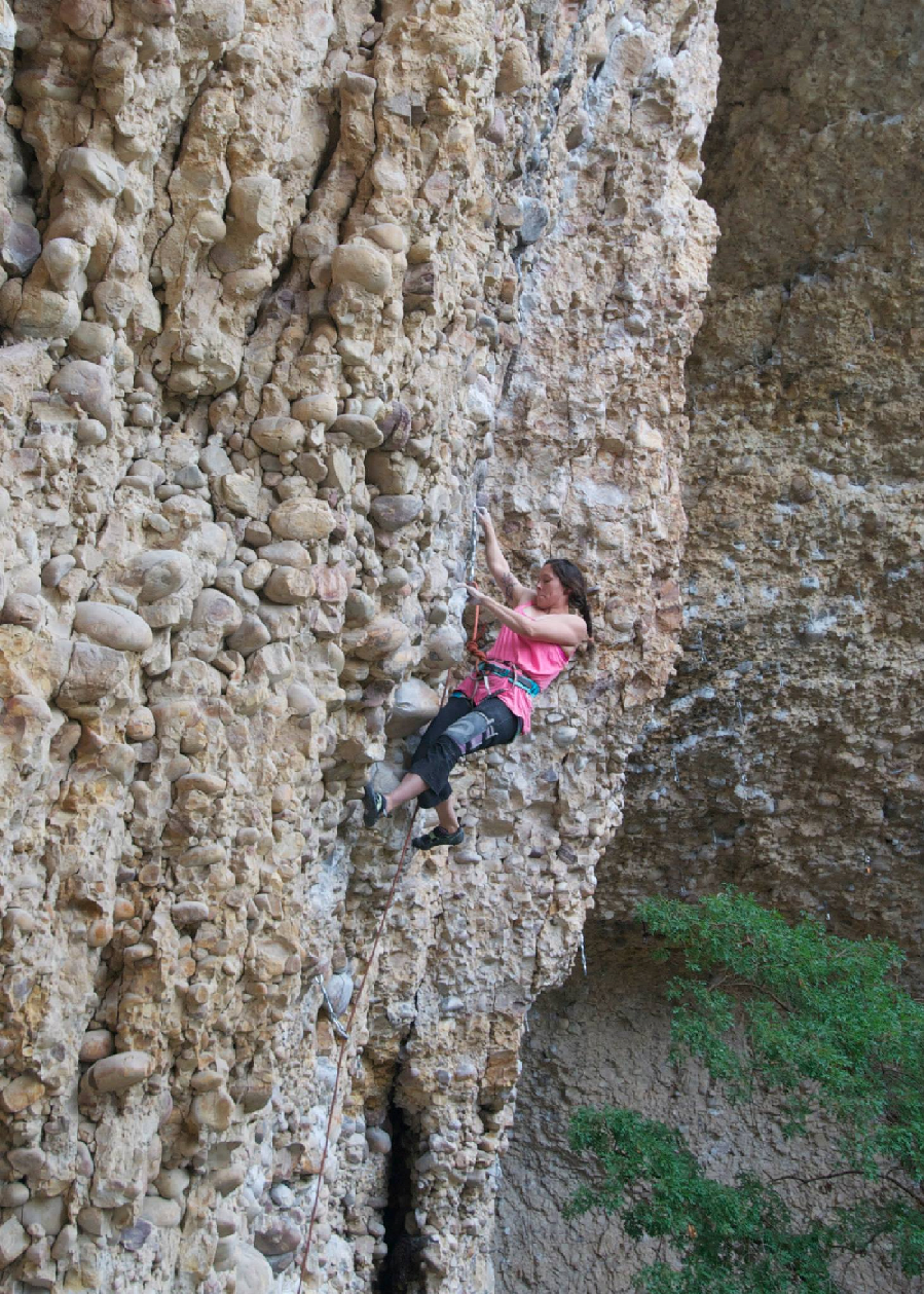 Sending Orgazmo, 5.12c. Photo cred: Bonar McCallum