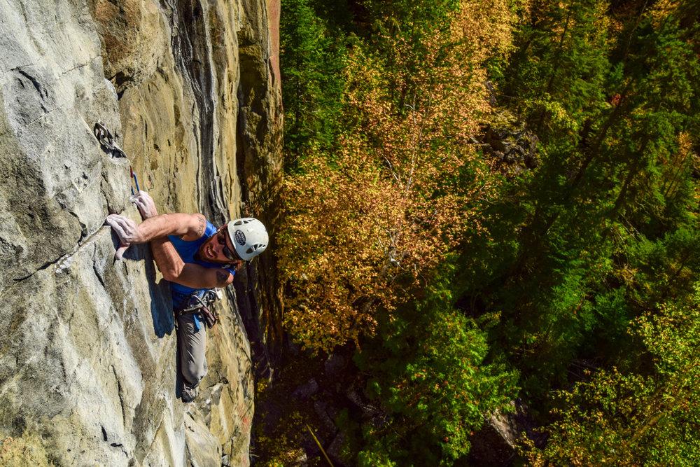 Aric Fishman climbing - Photo by Paul Desaulniers-2.JPG