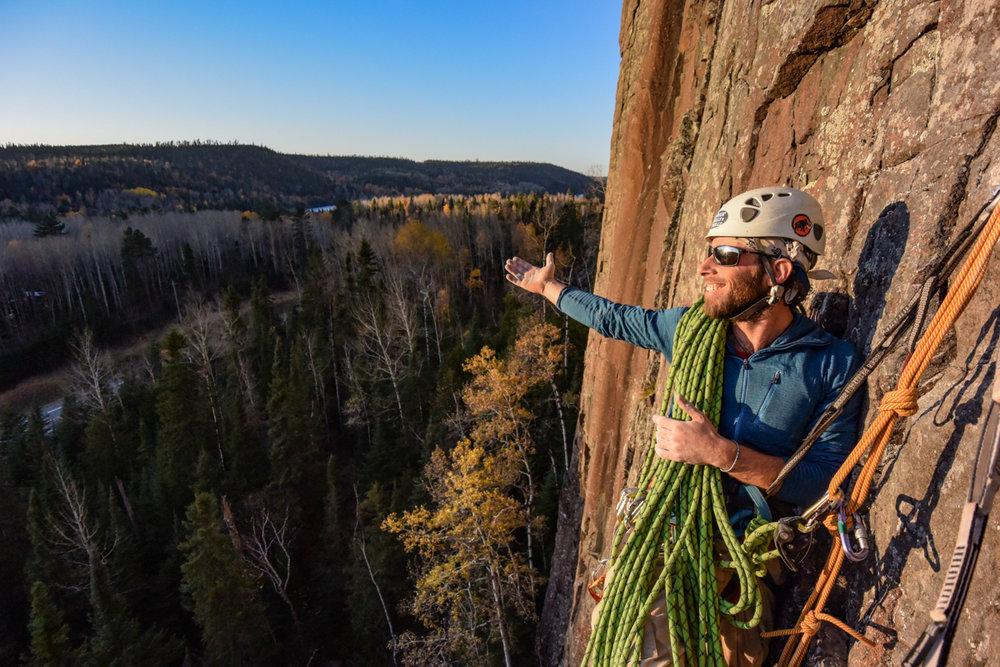 Aric Fishman climbing - Photo by Paul Desaulniers-5.JPG