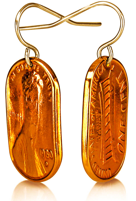 Squeezed Penny Earrings P-21.jpg