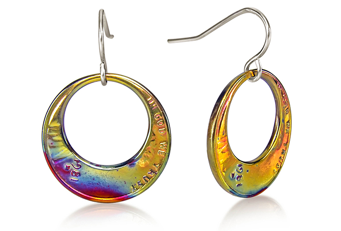 Eclipse Penny Earrings (Large) Fire Finish P-17f.jpg