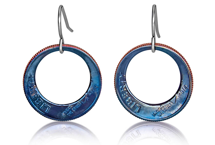 Eclipse Dime Earrings (Large) Fire Finish D-06f.jpg