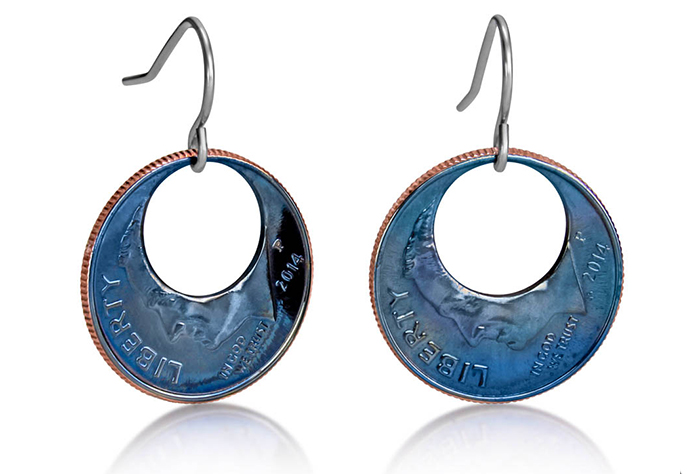 Eclipse Dime Earrings (Small) Fire Finish D-07f.jpg