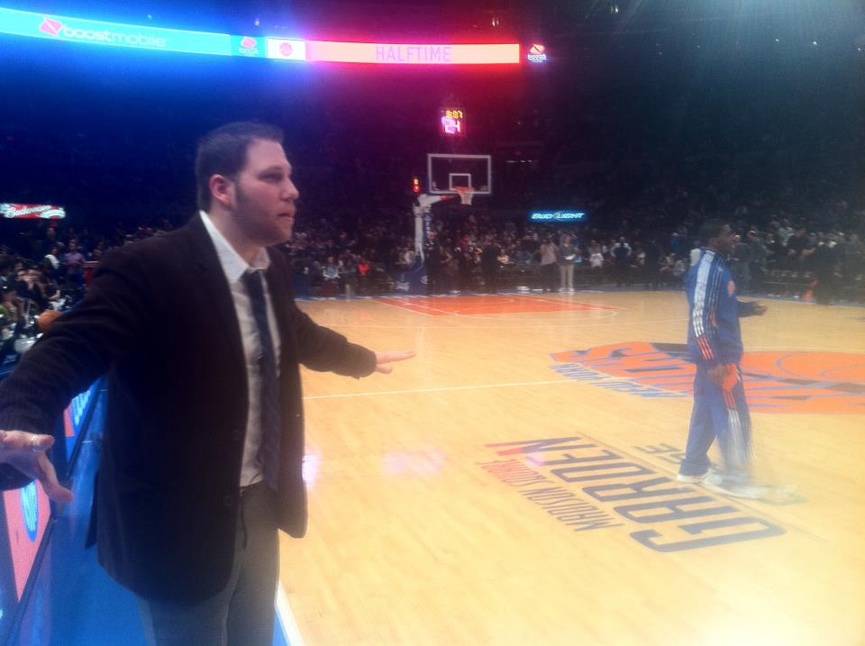 Coaching at Madison Square Garden has been a life-long dream.
