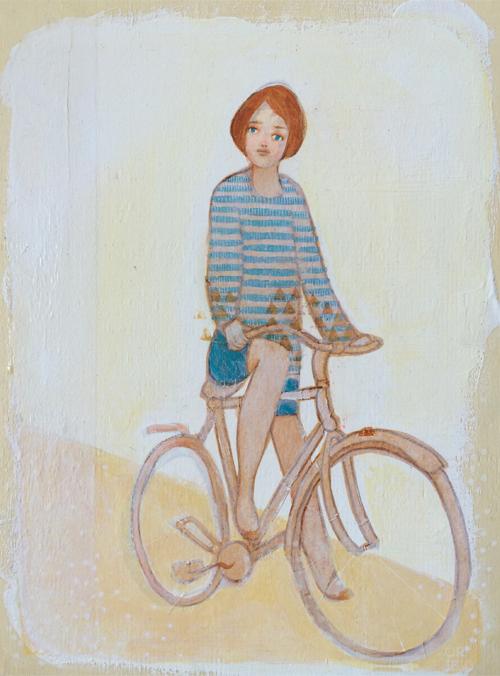 Biker Girl SOLD