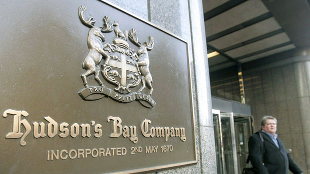 The Bay is one of Toronto's big commercial clients