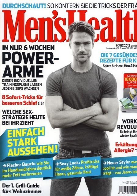 Jason Morgan for German Men's Health