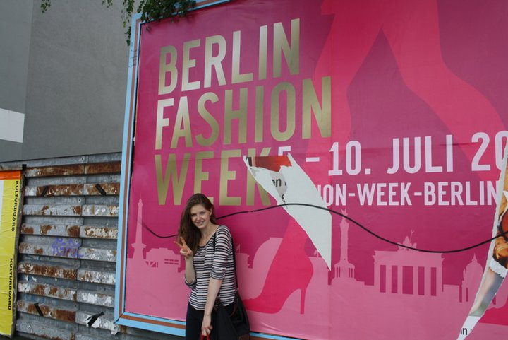 Kirsten Hassall in Germany for Berlin Fashion Week | Courtesy of Kirsten Hassall