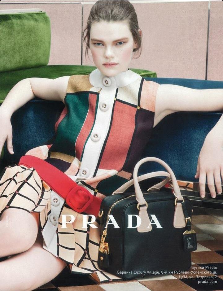 Kelly Mittendorf got her big break from a Prada campaign
