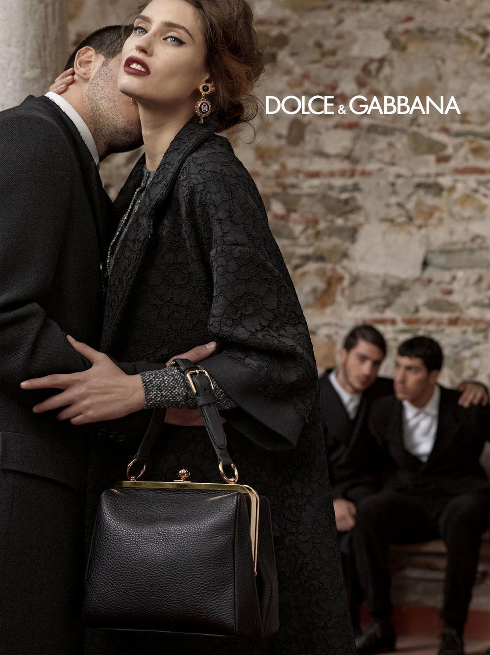 Bianca Balti for Dolce & Gabanna
