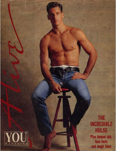 Bruce Hulse covering You Magazine