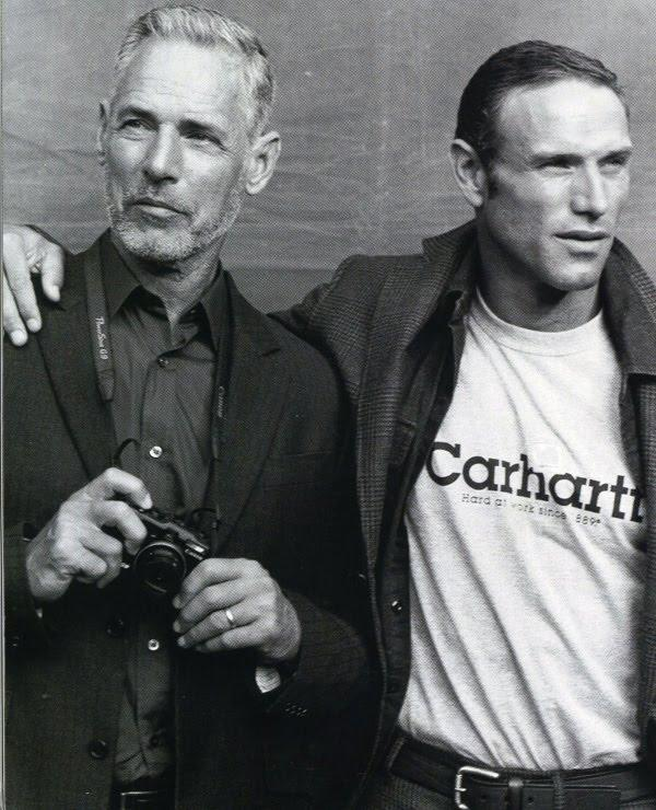 Bruce Hulse (left) with John Zuanich for Vogue Hommes International by Bruce Weber