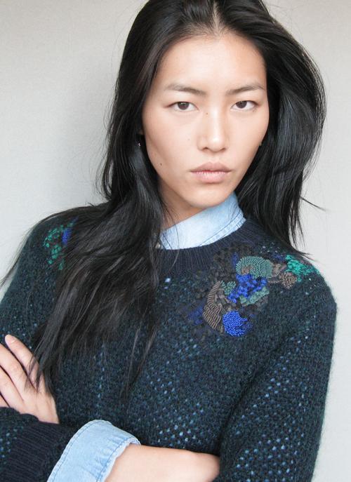 Chinese supermodel, Liu Wen