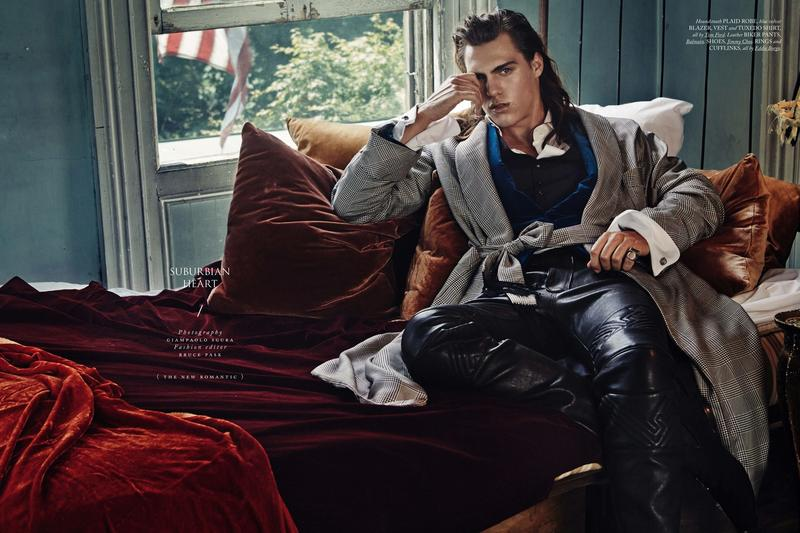 Travis Smith by Giampaolo Sgura for Hercules Magazine