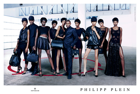Philipp Plein Spring 2014 campaign shot by Francesco Carrozzini