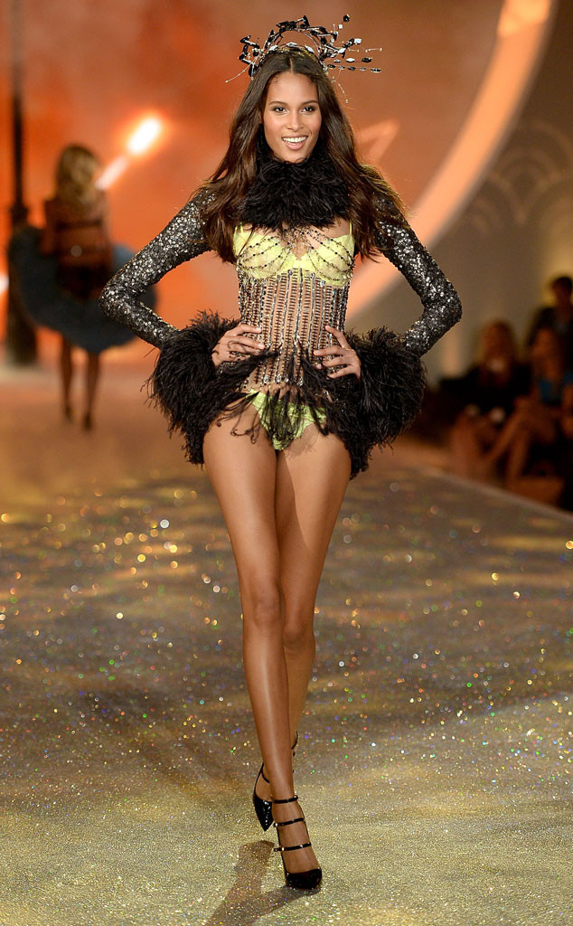 Cindy Bruna at the Victoria's Secret Fashion Show in November 2013 | E! Online