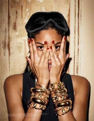 Model: Chanel Iman
