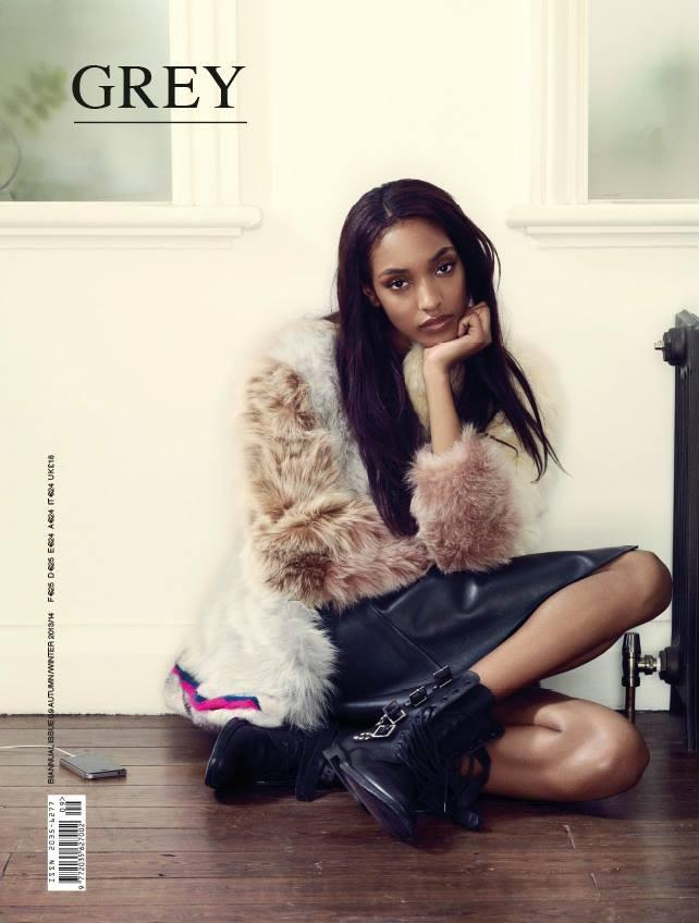 Jourdan Dunn covers Grey Magazine F/W 2013