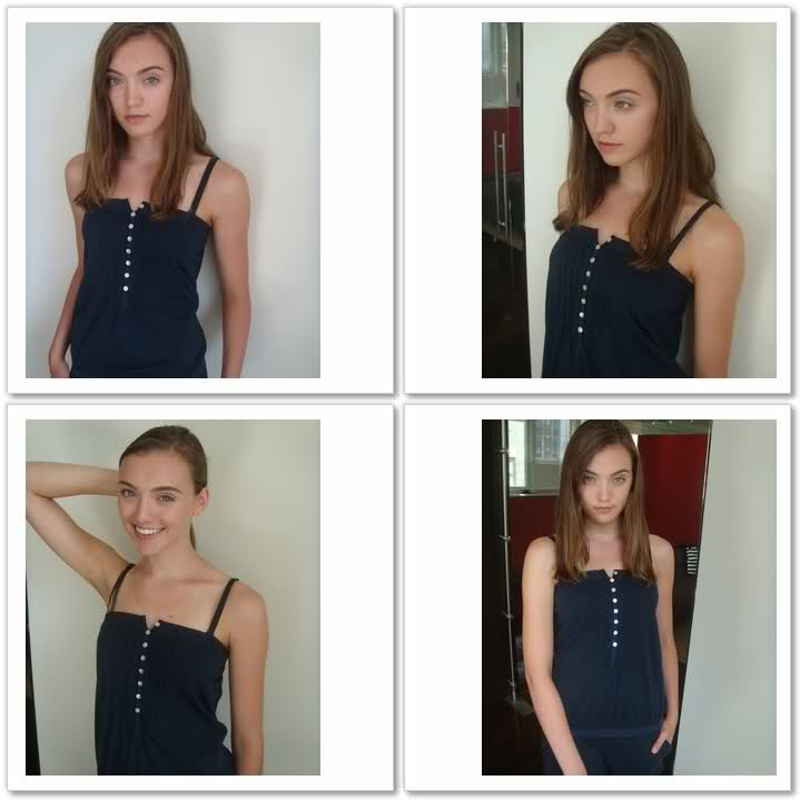 Early polaroids of Madison Schill from 2009 at the old Ford Canada office |  The Fashion Spot