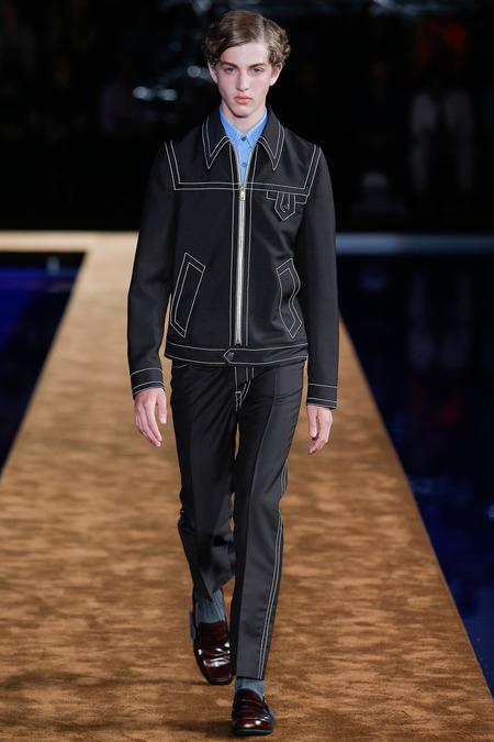 Marin at Prada Menswear Spring 2015 |  Style.com