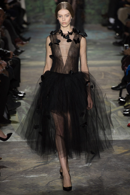 Ondria Hardin at Valentino Spring 2014 Couture |Yannis Vlamos / Indigitalimages.com