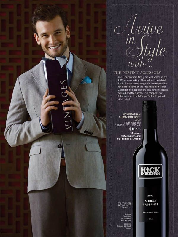 Richard Bell for the LCBO styled by Joelle Litt at Judy Inc |  Source