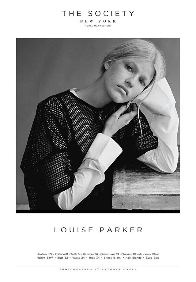 The Business Model favourite Louise Parker at The Society | Models.com