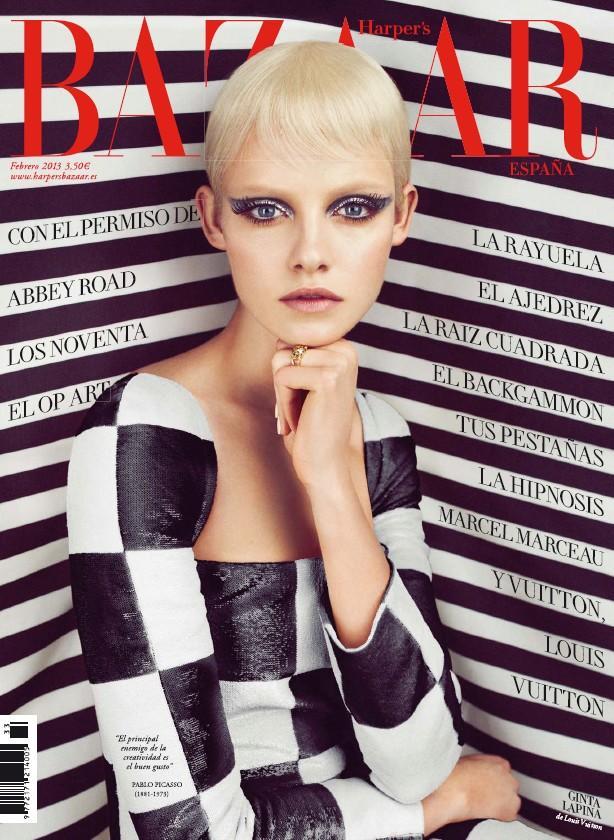 Harper's Bazaar Espana February 2013 Cover |  Models.com