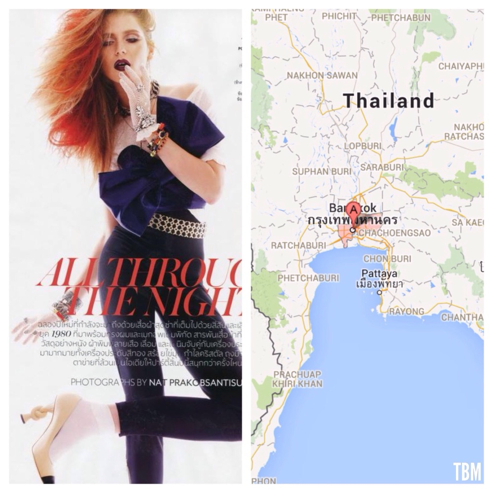 Vogue Thailand by Nat Prakobsantisuk | Bangkok, Thailand via Google Maps
