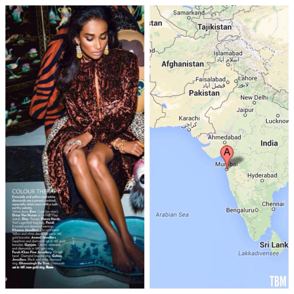 Vogue India | Mumbai, India via Google Maps