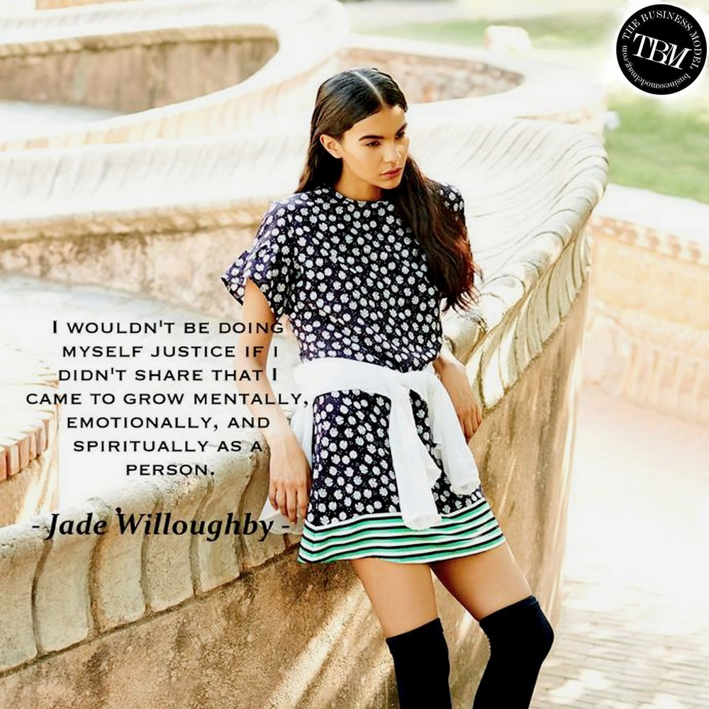 Jade Willoughby on what brought her to Mumbai | Original image via   Anima
