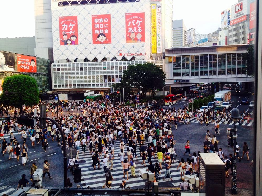 Shibuya   crossing   - A real life version of Frogger